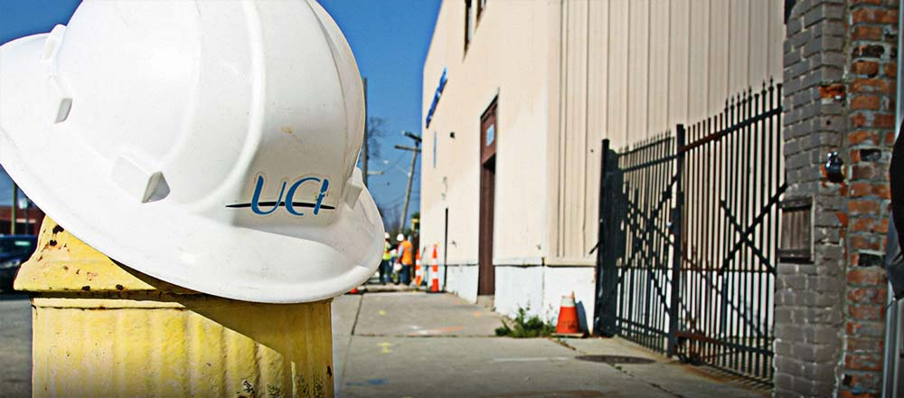 uci hardhat at job site