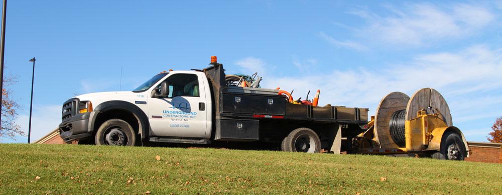 underground contractors inc truck